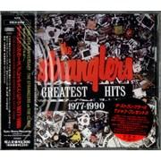 The Stranglers Greatest Hits 1977-1990 Japan CD album