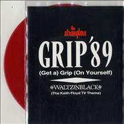 Click here for more info about 'The Stranglers - Grip '89 - Red Vinyl'