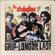 Click here for more info about 'The Stranglers - Grip/London Lady - Punk Art Print'