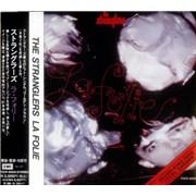 The Stranglers La Folie Japan CD album