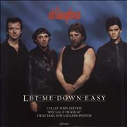 Click here for more info about 'The Stranglers - Let Me Down Easy + Poster'