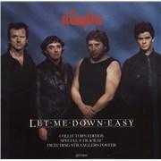 """The Stranglers Let Me Down Easy + Poster UK 12"""" vinyl"""