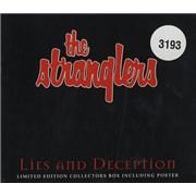 The Stranglers Lies & Deception UK CD single