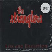 The Stranglers Lies And Deception UK 2-CD single set