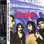 The Stranglers Live At The Hope And Anchor Japan CD album Promo
