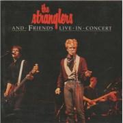 The Stranglers Live In Concert UK CD album Promo