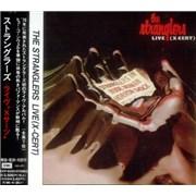The Stranglers Live (X-Cert) Japan CD album