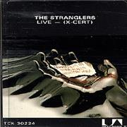 The Stranglers Live (X-Cert) UK cassette album