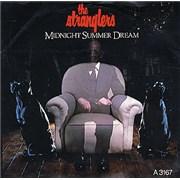 """The Stranglers Midnight Summer Dream UK 7"""" vinyl Promo"""