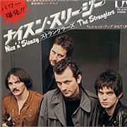 """The Stranglers Nice 'n' Sleazy Japan 7"""" vinyl"""