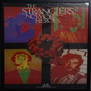 The Stranglers No More Heroes - Framed & Glazed UK poster