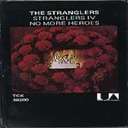 The Stranglers No More Heroes UK cassette album