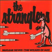 """The Stranglers Nuclear Device (The Wizard Of Aus) UK 7"""" vinyl"""