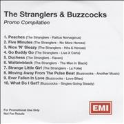 The Stranglers Promo Compilation UK CD-R acetate Promo