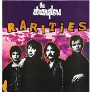 The Stranglers Rarities UK vinyl LP