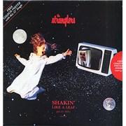 "The Stranglers Shakin' Like A Leaf + Poster UK 12"" vinyl"