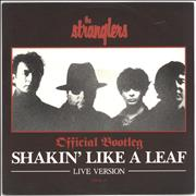 Click here for more info about 'The Stranglers - Shakin' Like A Leaf - Gold Promo Stamp'
