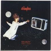 """The Stranglers Shakin' Like A Leaf UK 12"""" vinyl"""