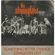 """The Stranglers Something Better Change + Sleeve UK 7"""" vinyl"""