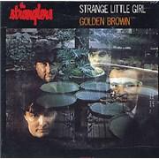 The Stranglers Strange Little Girl Netherlands CD single