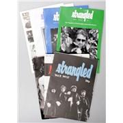The Stranglers Strangled - 6 Issues + Merchandise Insert UK fanzine