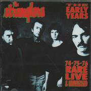 The Stranglers The Early Years - 74-75-76 Rare Live & Unreleased UK CD album