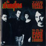 The Stranglers The Early Years '74-75-'76 Rare Live & Unreleased UK CD album