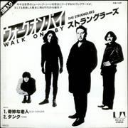 "The Stranglers Walk On By Japan 7"" vinyl Promo"