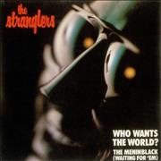 "The Stranglers Who Wants The World? UK 7"" vinyl"
