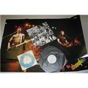 The Stranglers X Certs - Complete Japan vinyl LP Promo