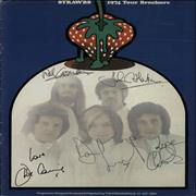 Click here for more info about 'The Strawbs - 1974 Tour Brochure - Autographed'