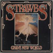 Click here for more info about 'The Strawbs - Grave New World + Booklet - Red Vinyl - Ex'