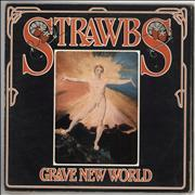 Click here for more info about 'The Strawbs - Grave New World + Booklet - Red Vinyl - VG'