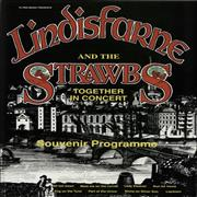 Click here for more info about 'The Strawbs - Lindisfarne And The Strawbs Together In Concert - Autographs'