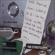 Click here for more info about 'The Streets - Dry Your Eyes - CD1'