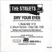 Click here for more info about 'The Streets - Dry Your Eyes'