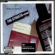 Click here for more info about 'The Streets - Fit But You Know It'