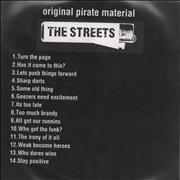 Click here for more info about 'The Streets - Original Pirate Material'