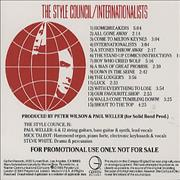 Click here for more info about 'The Style Council - Internationalists'