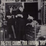 Click here for more info about 'The Style Council - Our Favourite Shop + Print - EX'