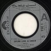 Click here for more info about 'The Style Council - Speak Like A Child - Wide-centred'