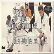 Click here for more info about 'The Style Council - The Singular Adventures Of The Style Council - Stickered'