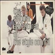 The Style Council The Singular Adventures Of The Style Council - Hype Stickered Sleeve - EX UK vinyl LP