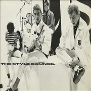 """The Style Council Waiting UK 12"""" vinyl"""