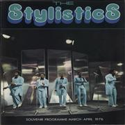 Click here for more info about 'The Stylistics - Souvenir Programme March - April 1976'