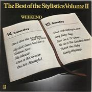 Click here for more info about 'The Stylistics - The Best Of The Stylistics Volume II: Weekend'