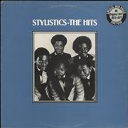 Click here for more info about 'The Stylistics - The Hits - Hype Sticker'