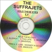 Click here for more info about 'The Suffrajets - Hold These Eyes EP'