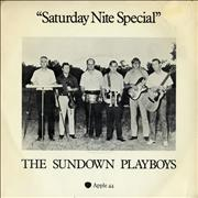 "The Sundown Playboys Saturday Nite Special - P/S - EX UK 7"" vinyl"