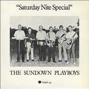 "The Sundown Playboys Saturday Nite Special - P/S UK 7"" vinyl"